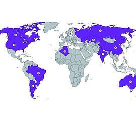 Liste aller länder